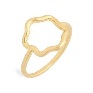 Madewell Flower Outline Ring